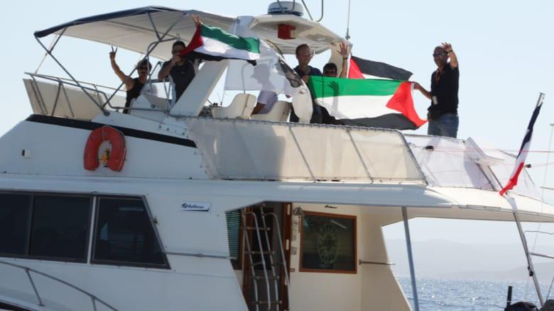 """""""أسطول الحرية 3"""".. أنباء عن """"تخريب متعمد"""" لإحدى السفن يرجئ انطلاقه إلى غزة"""