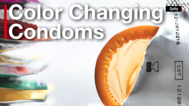 بالفيديو.. واقيات ذكرية يتغير لونها عند وجود مرض جنسي