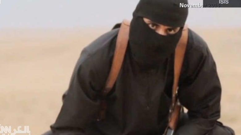 """محمد اموازي الذي لُقب بـ """"الجهادي جون""""، بطل تسجيلات ذبح الرهائن لدى التنظيم، وهو من مواليد الكويت ويحمل الجنسية البريطانية"""