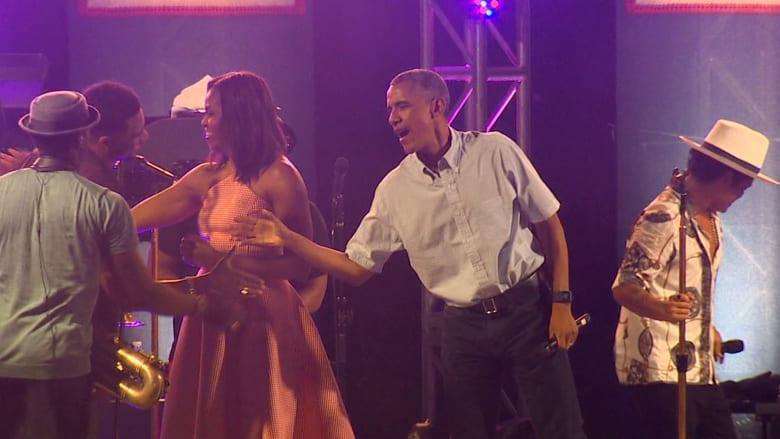 """شاهد.. أوباما يستضيف احتفال """"يوم الاستقلال"""" في واشنطن"""