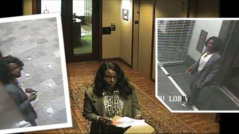"""أمينة فرانكس تسقط أخيرا بعدما """"دوخت"""" الشرطة الأمريكية بسرقاتها"""