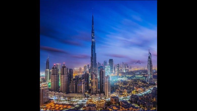 صورة لبرج خليفة في إمارة دبي