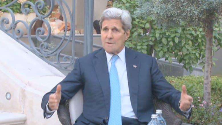 جون كيري: تقدم ووجهات نظر مختلفة في المفاوضات مع إيران