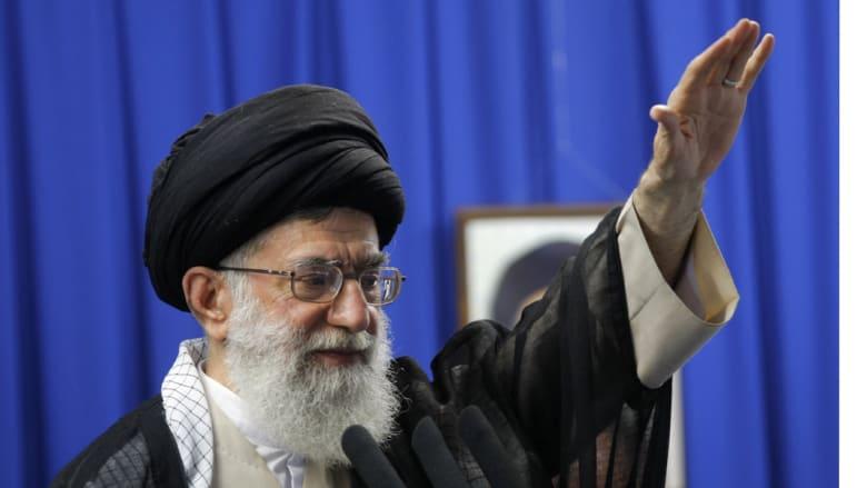 """خامنئي: نفوذ إيران """"نعمة إلهية"""".. غيظ سعودي وراء قصف اليمن ونقول للأعداء """"موتوا بغيظكم"""""""