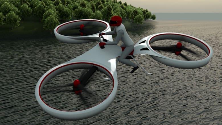 هل تصبح هذه الدراجة المحلقة واقعا نعيشه؟