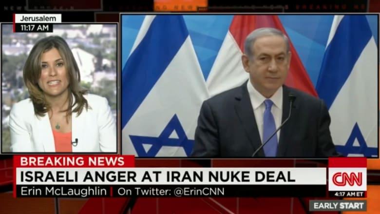 """غضب عارم في الأوساط الإسرائيلية.. ونتنياهو: الاتفاق النووي """"خطأ تاريخي"""""""