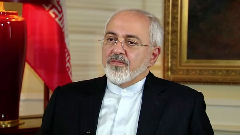 """فيديو.. وزير خارجية إيران لـ CNN: الاتفاق النووي """"جيد"""" للجميع"""