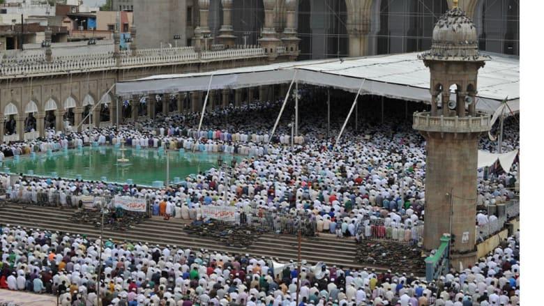 مسجد مكة، حيدر أباد - الهند