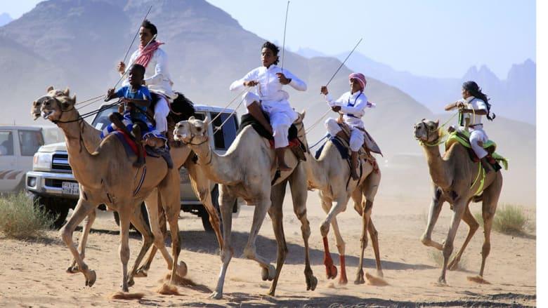 سباق الهجن.. تقليد وفرحة في العيد
