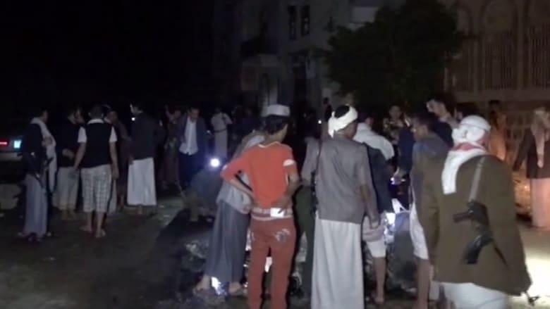 بالفيديو.. مشاهد لانفجار استهدف مسجداً للشيعة بصنعاء