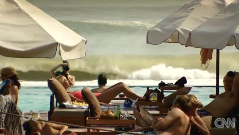 متعة  بلا حدود..في أفخم نادي بحري في جزيرة بالي الإندونيسية