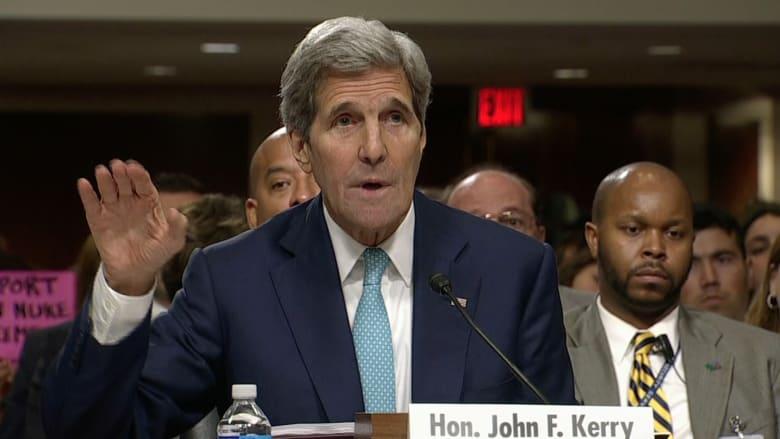 كيري للكونغرس: نجحنا في تفكيك قدرة إيران على امتلاك سلاح نووي