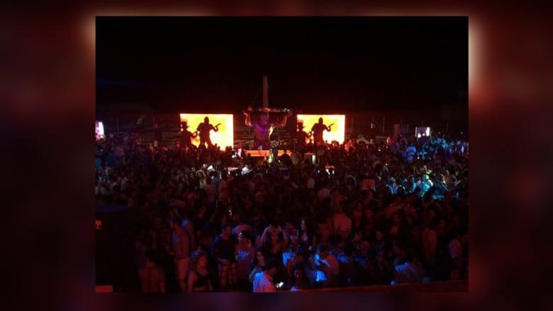 حفل النجمة هيفاء وهبي والجمهور الذي كان حاضراً