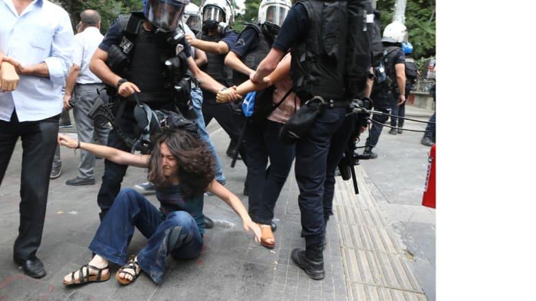 تركيا- اعتقالات بعد احتجاجات