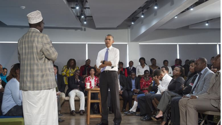 أوباما في كينيا