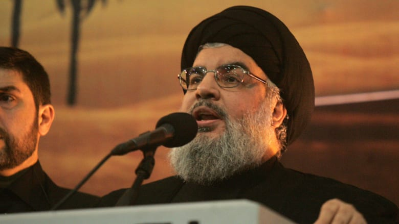 نصرالله: داعمو الإرهاب بسوريا يدفعون الثمن الآن.. وإيران هاجس المنطقة بعد الاتفاق النووي