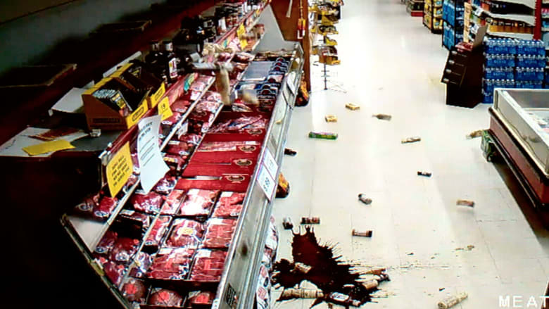 بالفيديو.. شاهد لحظة وقوع زلزال في ولاية أوكلاهوما