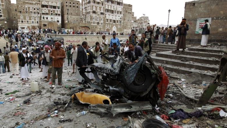 """اليمن.. قتلى وجرحى بتفجير استهدف مسجداً لطائفة """"البهرة"""" بصنعاء تبناه داعش"""