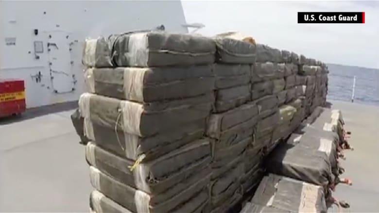 ضبط 6 أطنان من الكوكايين بقيمة 181 مليون دولار جنوب المكسيك