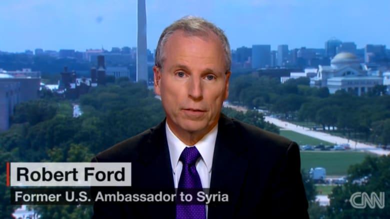 السفير الأمريكي السابق بسوريا لـCNN: داعش قوي لا يختبئ بكهوف مثل القاعدة.. ونظام الأسد جثة.. وتعاوننا مع إيران سيسهل دعوات التجنيد للتنظيم