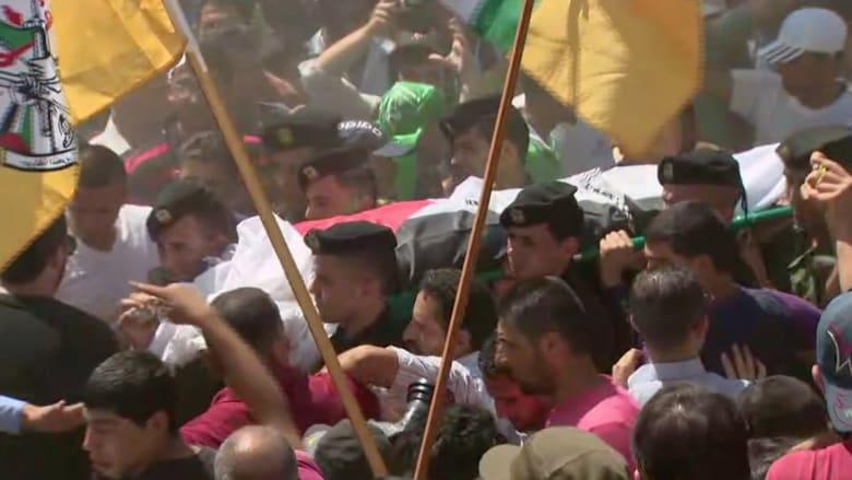 بالفيديو.. تشييع والد الطفل علي دوابشة في الضفة الغربية