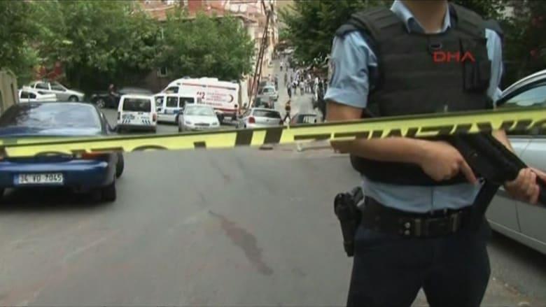 """بالفيديو.. إطلاق نار قرب القنصلية الأمريكية في إسطنبول بعد وصول الطائرات الأمريكية إلى """"إنغرليك"""""""