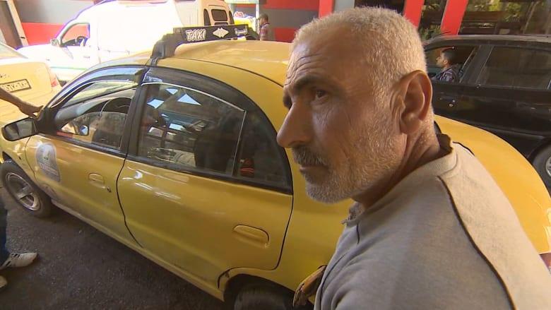 """بالفيديو.. الوقود في سوريا بـ""""المال والصبر"""""""