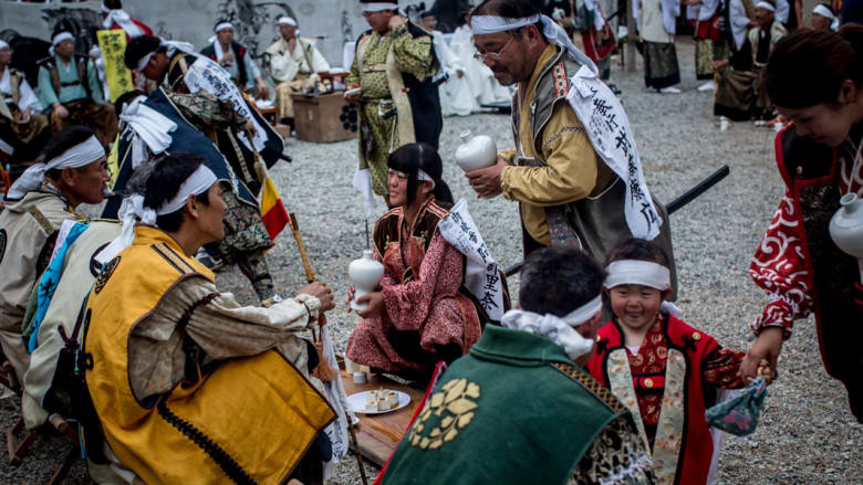 """""""الساموراي"""" .. محاربو اليابان الأسطوريون يعودون للحياة"""