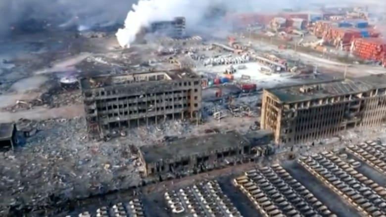 عائلات صينية تطالب بمعرفة مصير أبنائها.. واتهامات للحكومة بالتستر على انفجارات تيانجين