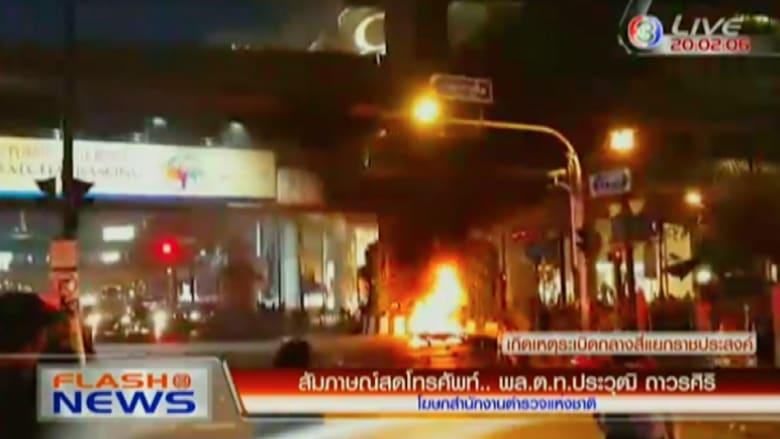 بالفيديو: انفجار وسط بانكوك بالقرب من معبد إروان الهندوسي وأنباء عن سقوط ضحايا