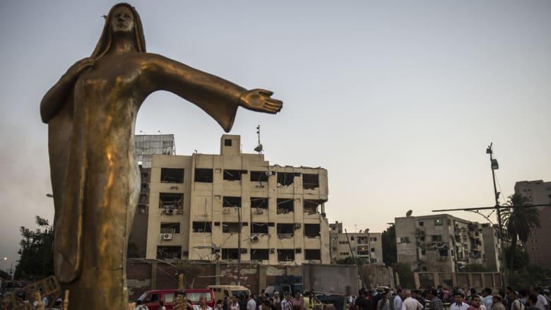 بالصور.. المشاهد الأولية بعد تفجير شبرا الخيمة في العاصمة المصرية