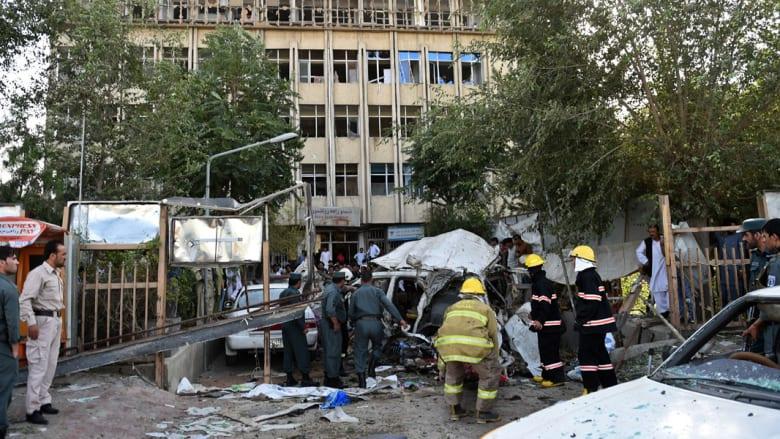 أفغانستان.. 12 قتيلاً بينهم 3 أمريكيين و66 جريحاً بتفجير سيارة مفخخة في كابول