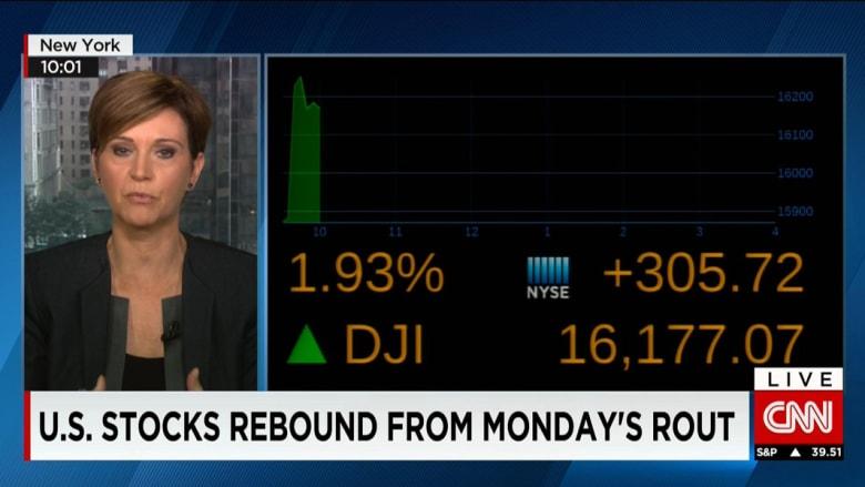 مؤشر داو جونز ينتعش ويرتفع 336 نقطة ونازداك يصعد بنسبة 3% ببداية تداولات نيويورك