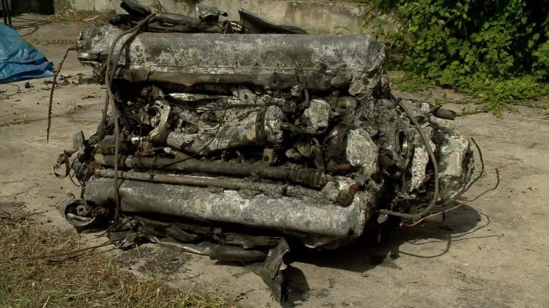 بالفيديو.. الجفاف يؤدي لاكتشاف طائرة سوفيتية فقدت عام 1945