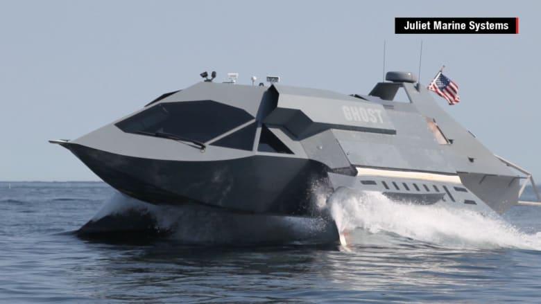 """تعرف على """"القارب الشبح"""".. الجيل الجديد للأسلحة البحرية الفعالة"""