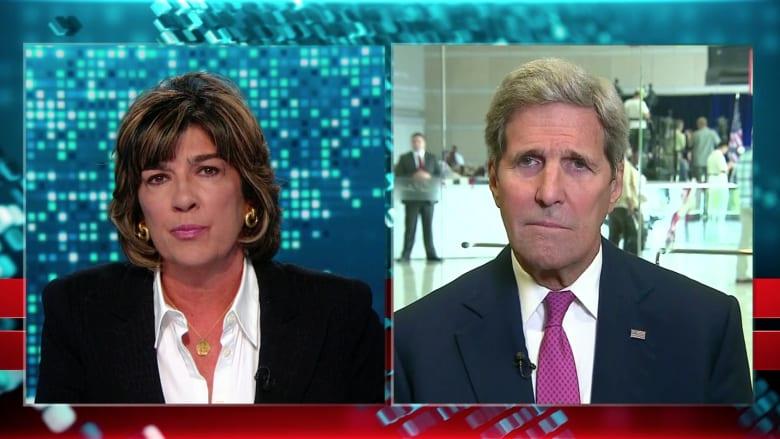 """بالفيديو.. وزير الخارجية الأمريكي لـCNN: هزيمة """"داعش"""" تتطلب وجود قوات على الأرض"""