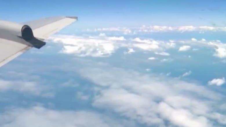 بالفيديو.. عراك على ارتفاع آلاف الأقدام يجبر طائرة أمريكية على الهبوط
