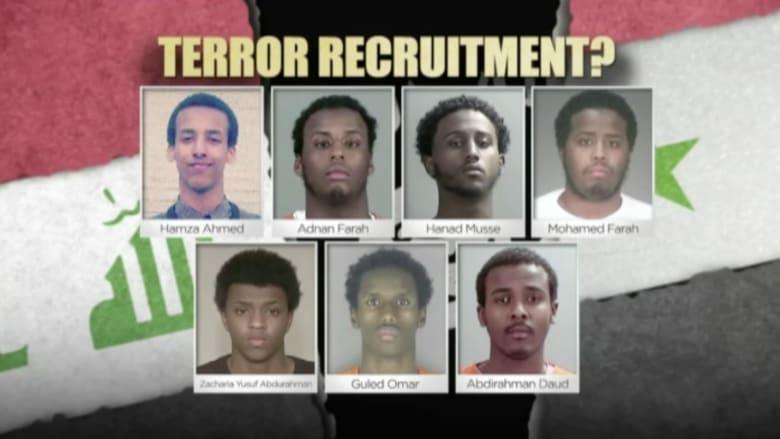 """بالفيديو.. محاكمة 7 شباب أوقعتهم المباحث الفيدرالية الأمريكية بسبب """"داعش"""""""