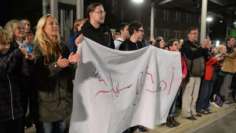 ألمانيا تؤكد وصول أكثر من 12 ألف لاجئ إلى ميونيخ حتى ظهر الأحد