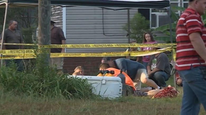 إنقاذ طفل أمريكي بعد بقائه في بئر بعمق 25 قدما لثلاث ساعات