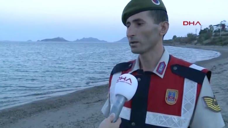 بالفيديو.. الجندي التركي الذي حمل جثة الطفل آلان يروي لحظات الألم التي عاشها
