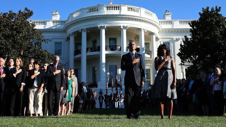 أمريكا تشهد إحياء ذكرى 11 سبتمبر بدقائق حداد وقراءة أسماء الضحايا