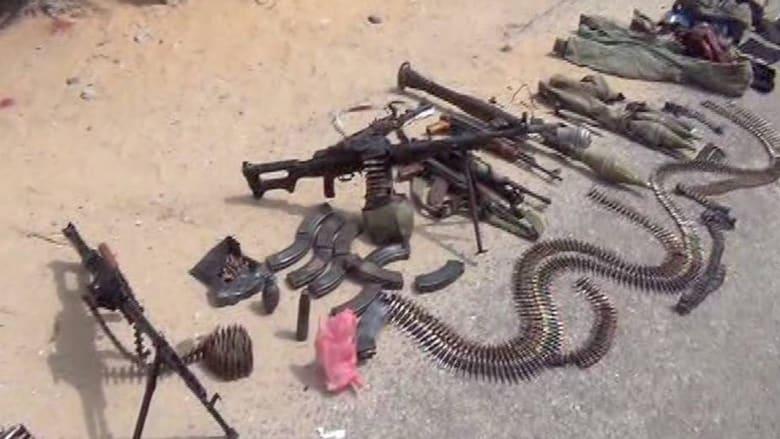 """بالصور.. مقتل 64 """"تكفيرياً"""" وقتيلان للجيش المصري بسيناء"""