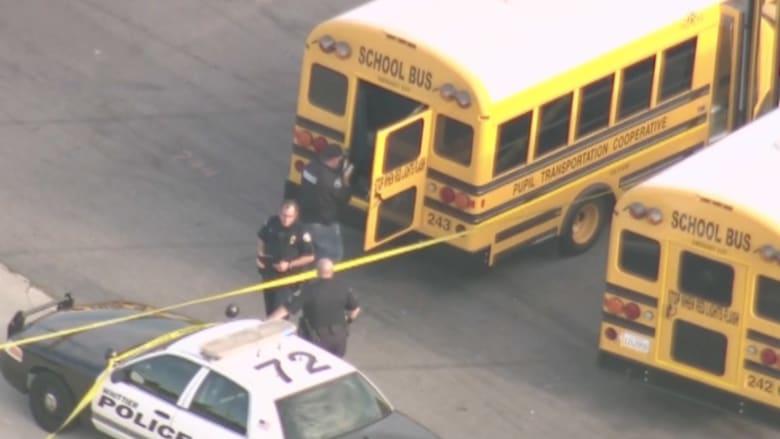 بالفيديو..العثور على طالبميتاًبحافلةمدرسةفي لوس انجلوس