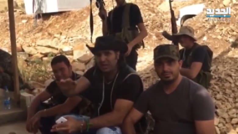 صورة من فيديو لنوح زعيتر يعلن دعمه لحزب الله
