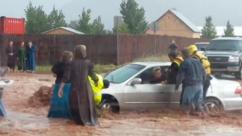 مقتل 7 وفقدان 6 في فيضانات مفاجئة باغتت حدود يوتاه وأريزونا
