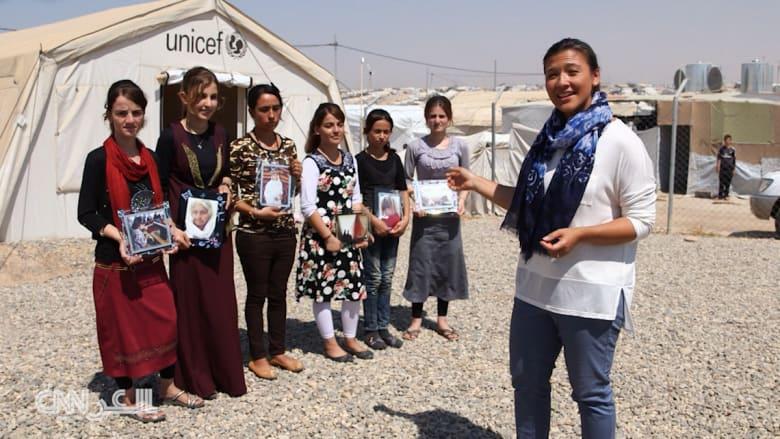 أيزيديات هربن من داعش.. يشاركن لحظات حياتهن بالتصوير