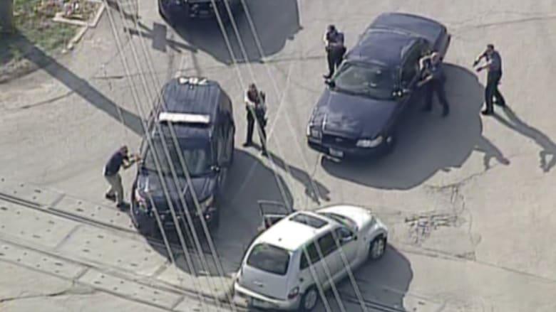 بالفيديو.. سائق متهور في مطاردة مع الشرطة الأمريكية