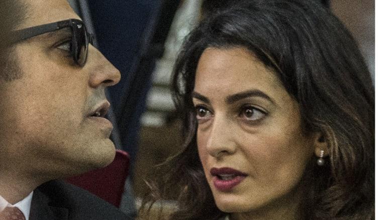 """أمل كلوني تشكر السيسي للعفو عن صحفيي """"قضية الجزيرة"""": تصحيح لظلم وتحرير لأبرياء"""