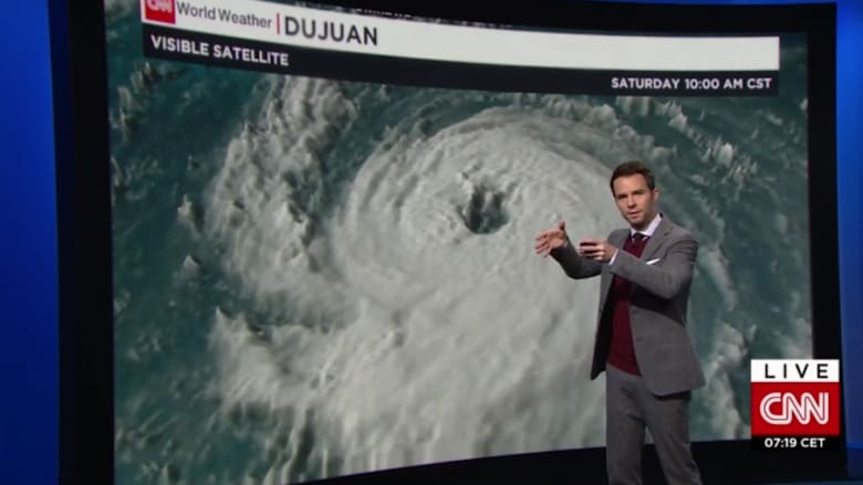 """تأهب لـ """"إعصار دوجوان"""" الذي يهدد بضرب الأراضي اليابانية والتايوانية والصينية على مدى أيام"""